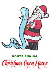 Kouts Christmas Open House